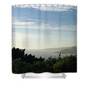 Coastal View Shower Curtain