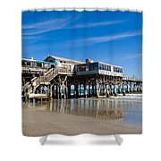Cocoa Beach Florida Shower Curtain