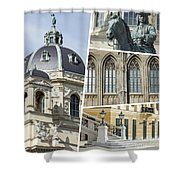 Collage Of Vienna Shower Curtain