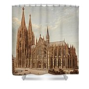 Cologne Cathedral Shower Curtain