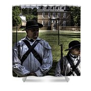 Colonial Williamsburg  V8 Shower Curtain