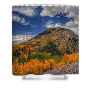 Color In The Clouds Shower Curtain