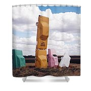 Colorful Cars Shower Curtain