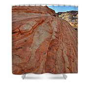 Colorful Sandstone Wave In Valley Of Fire Shower Curtain