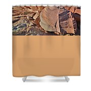 Colorful Valley Of Fire State Park Shower Curtain