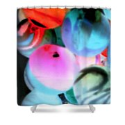 Colors 1 Shower Curtain