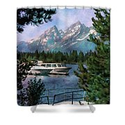 Colter Bay In The Tetons Shower Curtain