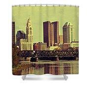 Columbus, Ohio Shower Curtain