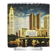 Columbus Ohio Shower Curtain
