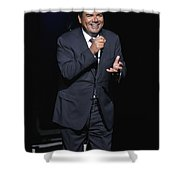 Comedian George Lopez Shower Curtain