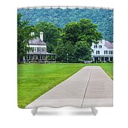 Commandants House At West Point Shower Curtain
