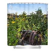 Community Garden Shower Curtain