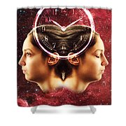 Conceptual Illustration Of Circadian Shower Curtain