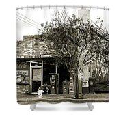 Coney Island Cafe Shower Curtain