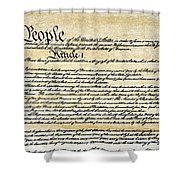 Constitution Shower Curtain