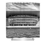 Copenhagen Opera House Shower Curtain
