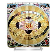 Copernican Universe, 1660 Shower Curtain