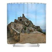 Corbara - Corsica Shower Curtain