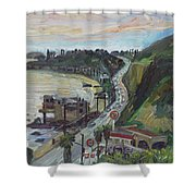 Corral Canyon View Shower Curtain