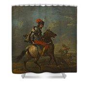 Cossack On Horseback Shower Curtain