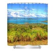 Costa Rica Landscape Shower Curtain