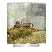 Cottage In The Dunes Shower Curtain