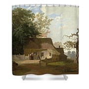 Cottage Scenery Shower Curtain