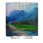 Country Road 03 Shower Curtain