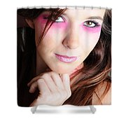 Covergirl Shower Curtain