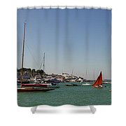 Cowes Shower Curtain