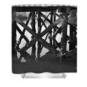 Crab Traps Shower Curtain