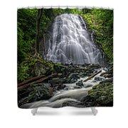 Crabtree Falls North Carolina Shower Curtain