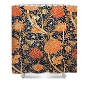 Cray Pattern Shower Curtain