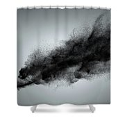 Creative Dark Cloud Shower Curtain