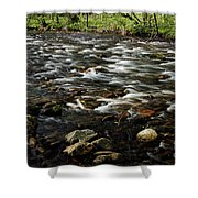 Creek, Smoky Mountains, Tennessee Shower Curtain