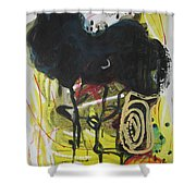 Crescent2 Shower Curtain