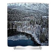Cresta Lake Shower Curtain