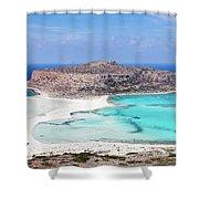 Crete Shower Curtain