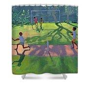Cricket Sri Lanka Shower Curtain by Andrew Macara