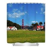 Crissy Field - San Francisco Shower Curtain