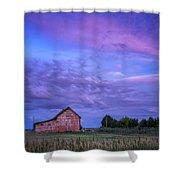 Crocheron Skies Shower Curtain
