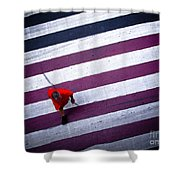 Crossing Shower Curtain