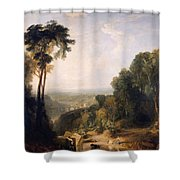 Crossing The Brook Shower Curtain