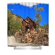 Crystal Colorado Historic Mill Shower Curtain