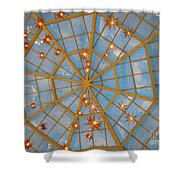 Crystal Web Shower Curtain