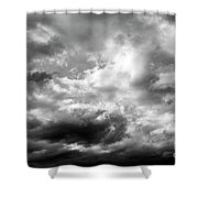 Cumulonimbus Clouds  Shower Curtain