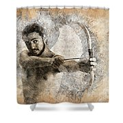 Cupid The God Of Desire 5 Shower Curtain