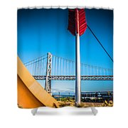 Cupid's Span Shower Curtain