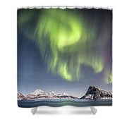 Curtains Of Light Shower Curtain