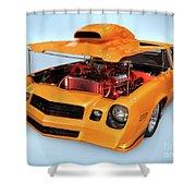 Custom Muscle Car Shower Curtain
